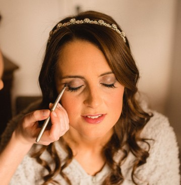 Golden, Flawless Bridal Makeup